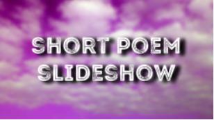 Short Poem Slideshow Knop Klein