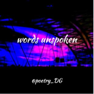 Words Unspoken knop klein